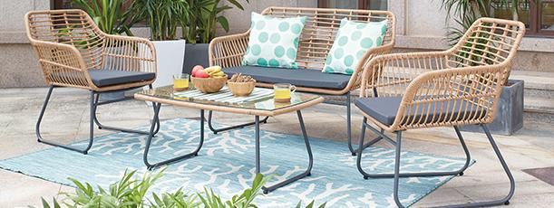 Финална разпродажба на мебели и аксесоари за градината